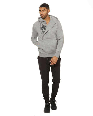 HPE Clothing Outerwear S / Grey Train Hoodie - HPE Clothing
