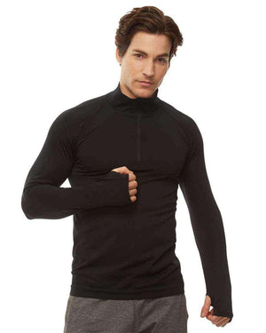 HPE Clothing Tops S / Black Cross X Seamless 1/4 Zip Top - HPE Clothing