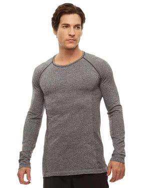 HPE Clothing Tops S / Grey Cross X Seamless Long Sleeve Top - HPE Clothing