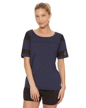 HPE Clothing Tops XS / Navy Boyfriend Ice Tee - HPE Clothing