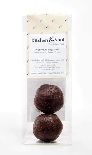 Kitchen & Soul Energy Balls (Snacks) Kitchen & Soul Nut Nut Energy Balls