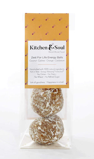 Kitchen & Soul Energy Balls (Snacks) Kitchen & Soul Zest For Life Energy Balls