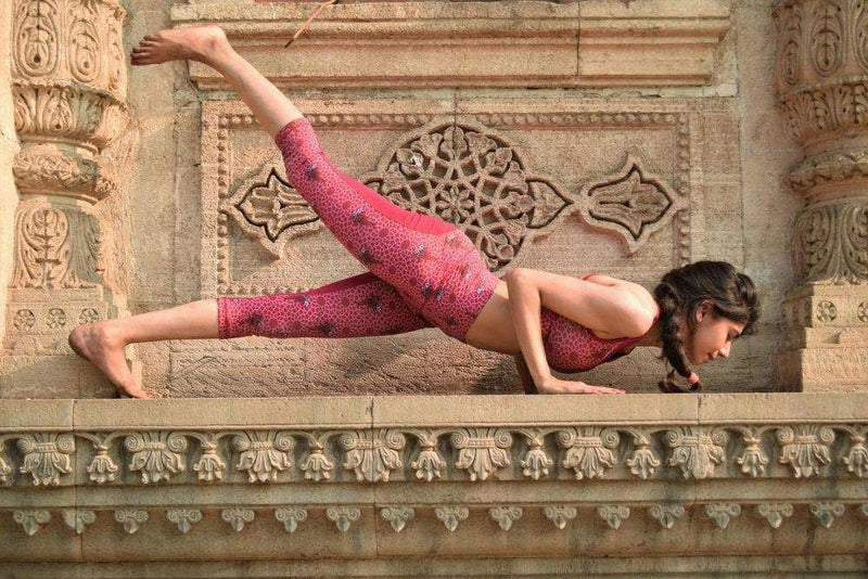 Origin Capris Leggings in Jaipur print - Milochie , Leggings  - Life By Equipe