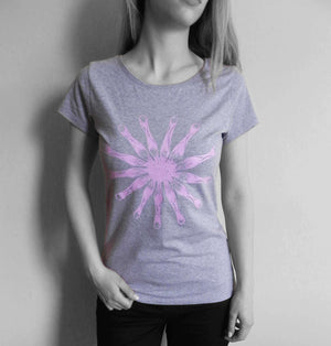 Milochie Tops M / Pink Lacy Bloom T-Shirt - BUY 1 GIFT 1 - Milochie