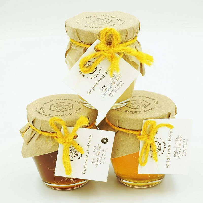Meadow Honey Gift Set of 3 in a Wooden Box , Honey  - Life By Equipe