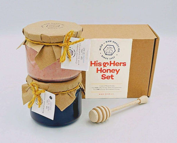 Raw Honey Lovers Gift Set , Honey  - Life By Equipe