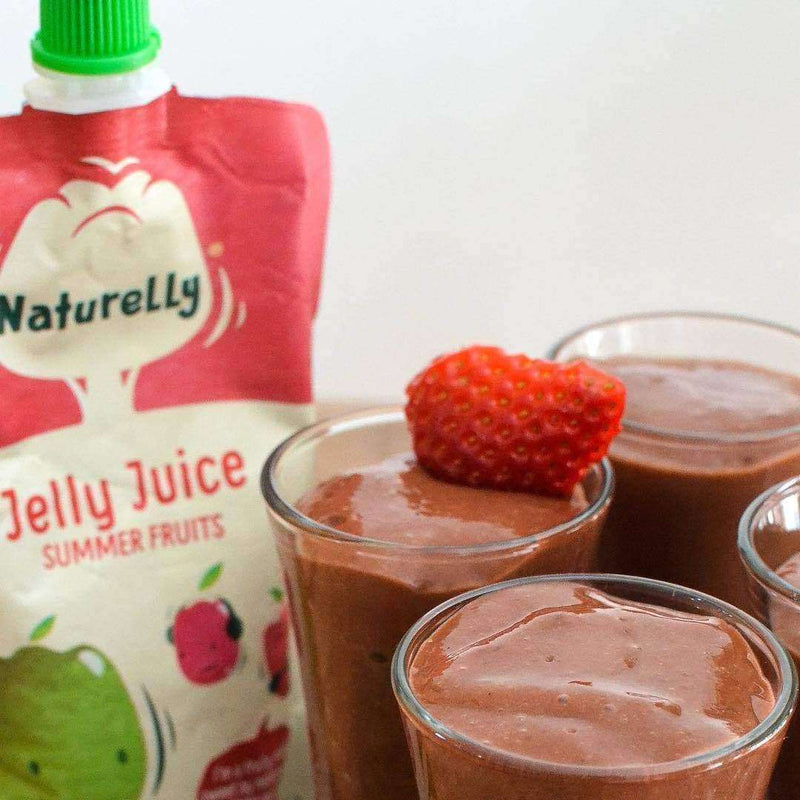 Naturelly Jelly Juice Summer Fruits - Case of 12x100g , Children's Snacks  - Life By Equipe