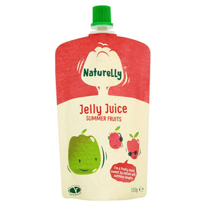 Naturelly Children's Snacks Naturelly Jelly Juice Summer Fruits - Case of 12x100g