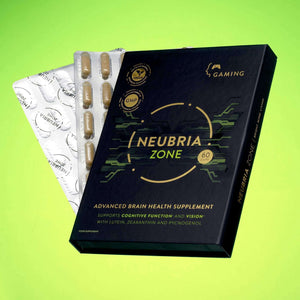 Neubria Health Supplements 60 Capsules (30 Day Supply) Neubria Zone - Advanced Health Supplement Designed Specifically To Support Gamers