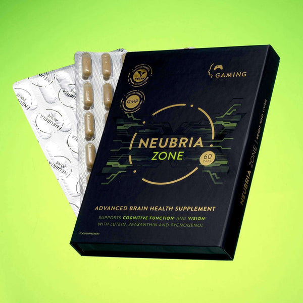 Neubria Zone - Advanced Health Supplement Designed Specifically To Support Gamers , Health Supplements  - Life By Equipe