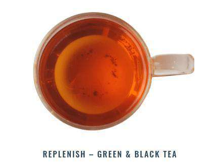 Noble Leaf Tea Replenish Green & Black Tea - Noble Leaf