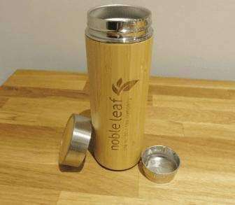 Bamboo Tea Infuser Flask - Noble Leaf , Teawear  - Life By Equipe