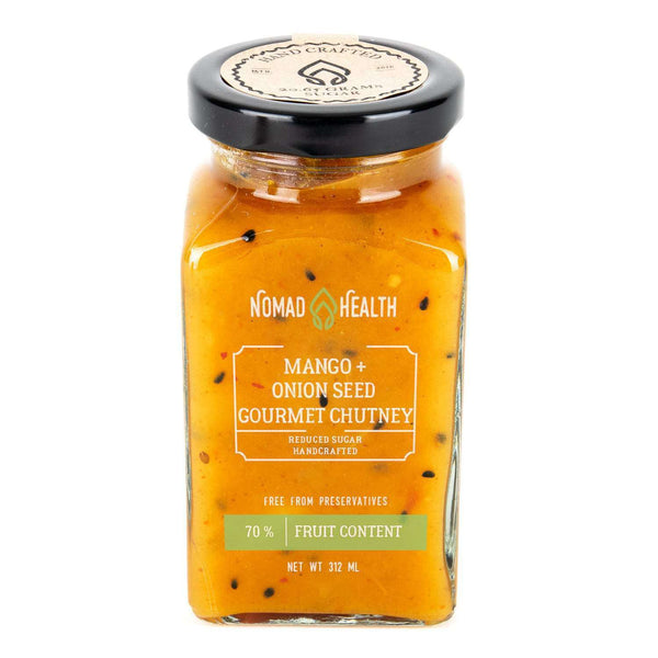 Mango and Onion Seed Gourmet Chutney , Chutney  - Life By Equipe