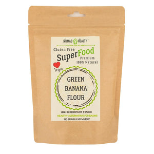 Nomad Health Ingredients SuperFood Green Banana Flour