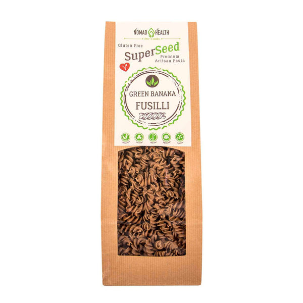 SuperSeed Green Banana Pasta - Fusilli , Pasta  - Life By Equipe
