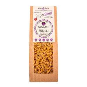 SuperSeed Sesame Pasta - Fusilli , Pasta  - Life By Equipe