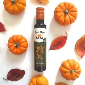 Pepo Pappa Pumpkin Seed Oil - 250ml , Pumpkin Seed Oil  - Life By Equipe