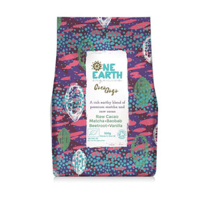 One Earth Organics Superfood Blend Coco Go Go Superfood Blend with Beetroot Matcha and Baobab 100g