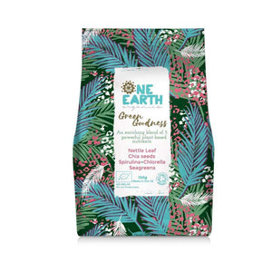 One Earth Organics Superfood Blend Green Goodness Superfood Blend with Chia and Spirulina 150g
