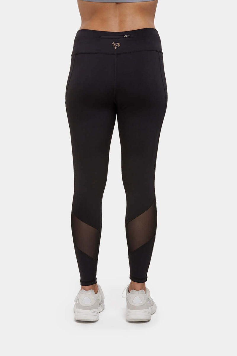 Black High Waisted Gym Leggings Perky Peach