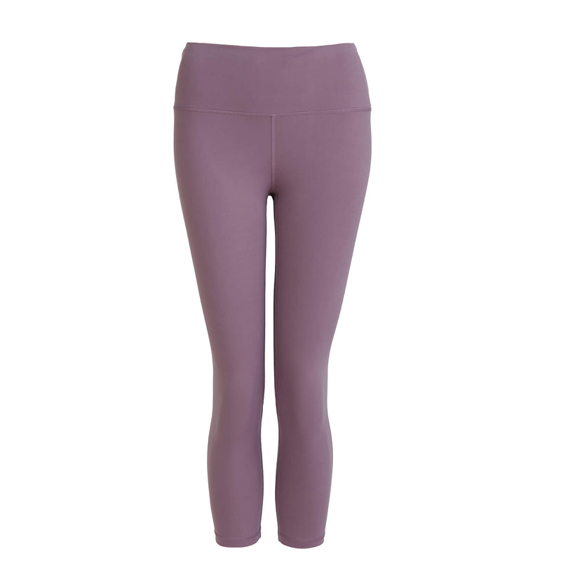 Move More Mauve Capri Leggings by Perky Peach