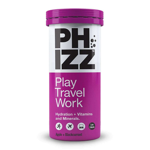 Phizz - Apple and Blackcurrant Hydration Energy & Vitamin Tablets x10 Tube , Health Supplements  - Life By Equipe