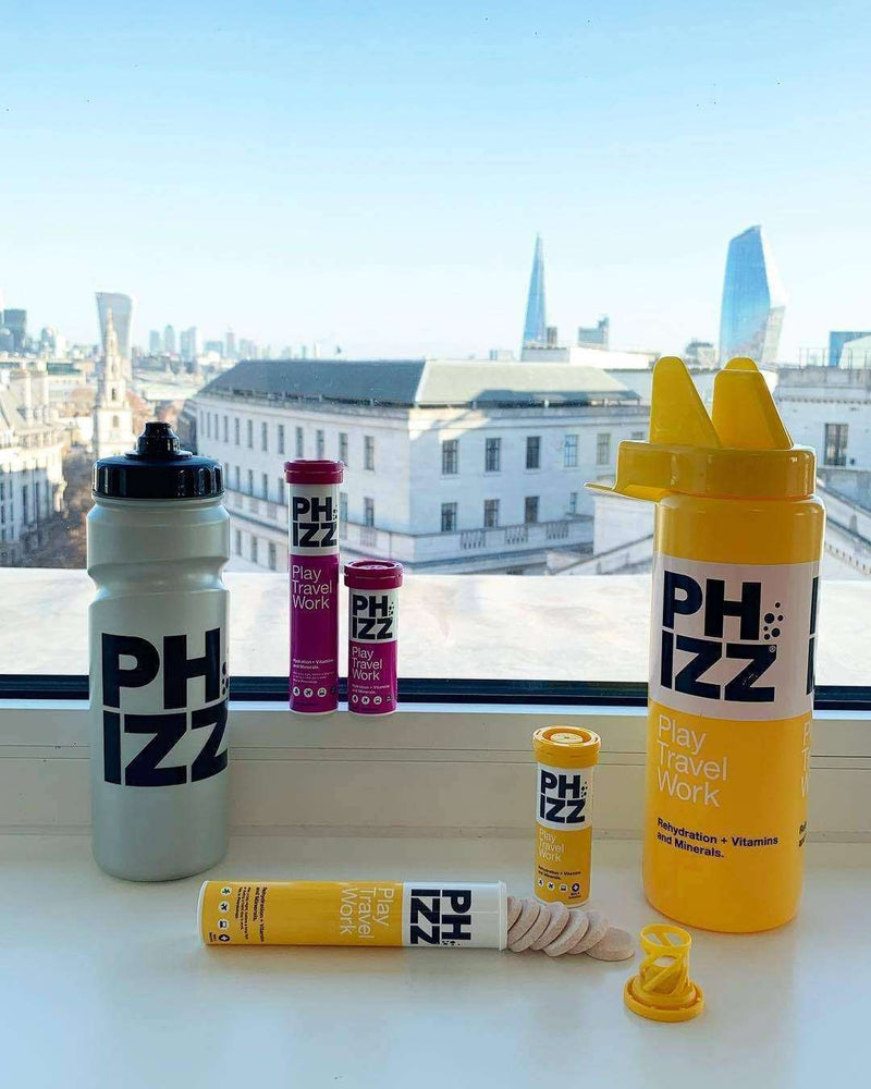 Phizz - Apple and Blackcurrant Hydration Energy & Vitamin Tablets x20 Tube , Health Supplements  - Life By Equipe