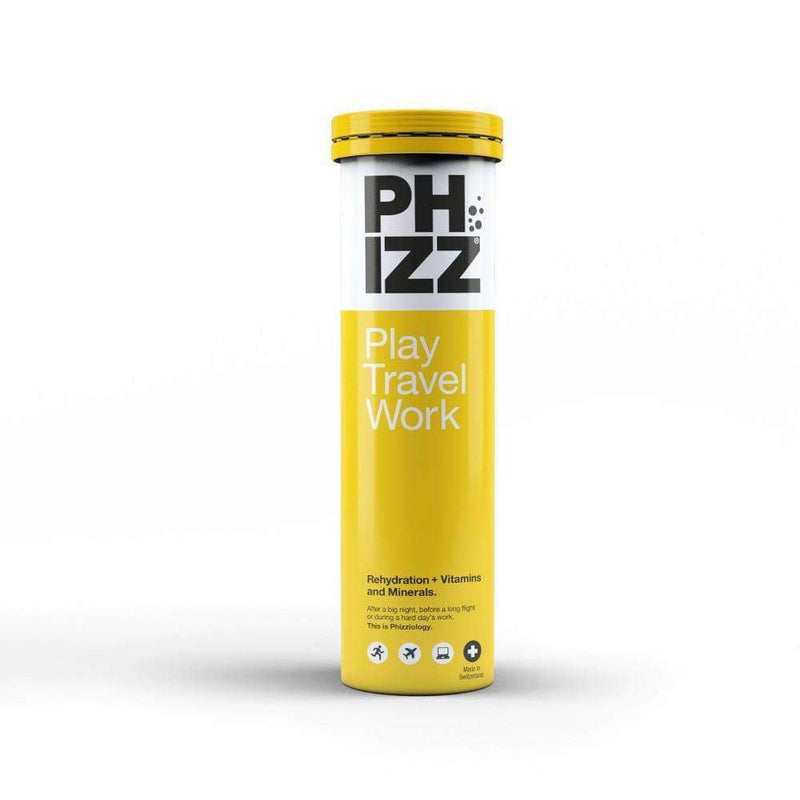 Phizz - Orange Hydration Energy & Vitamin Tablets x20 Tube , Health Supplements  - Life By Equipe