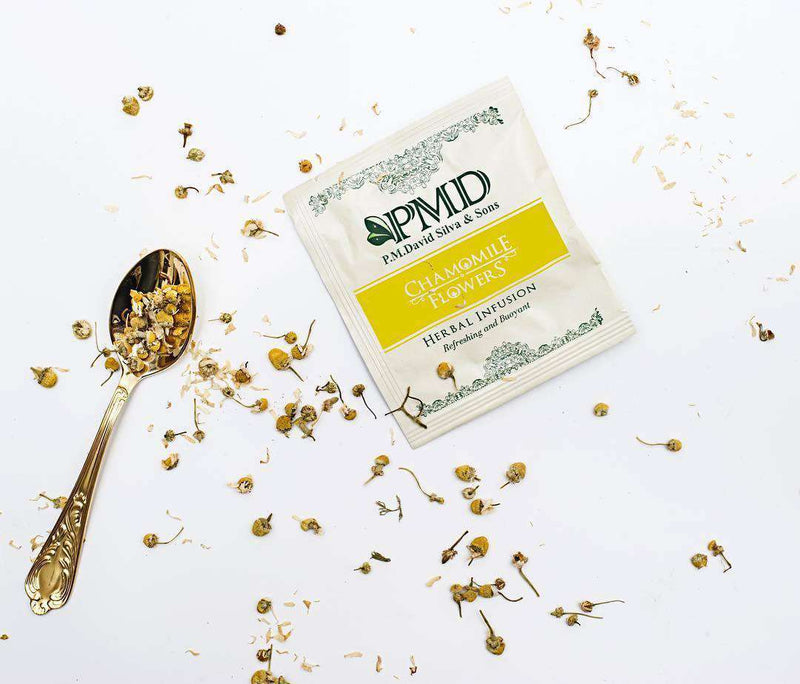 PMD Tea Tea 20 Chamomile Flowers Tea Bags