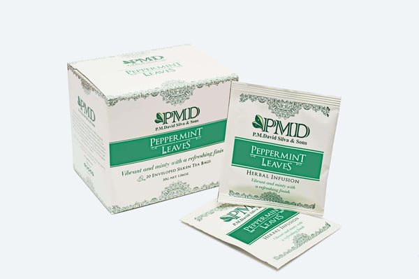 PMD Tea Tea 20 Peppermint Leaves Tea Bags