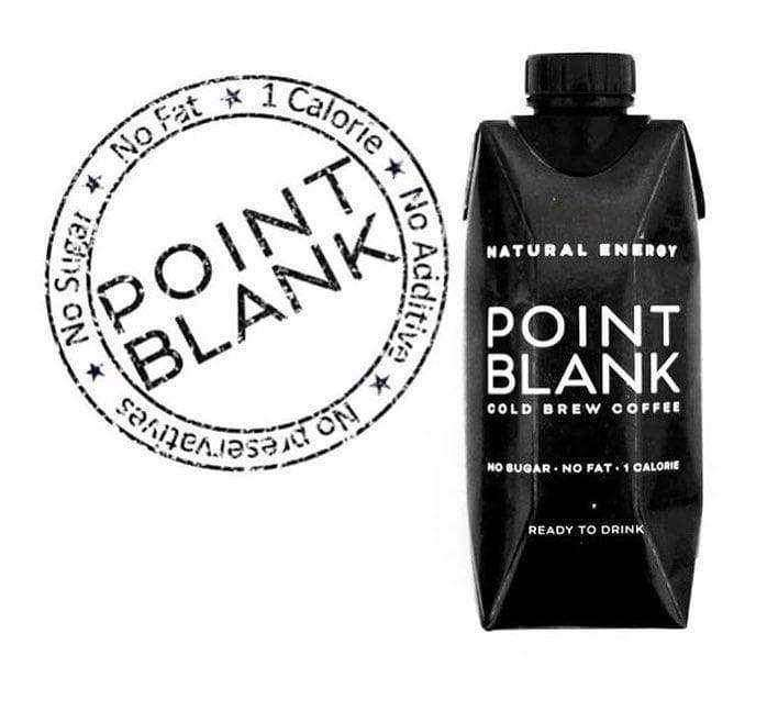 Cold Brew Coffee by Point Blank 12x 330ml Case , Cold Brew Coffee  - Life By Equipe