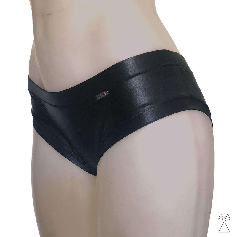 Polewear Shorts - Black Gloss 'Emily' by TANIT Ibiza , Shorts  - Life By Equipe