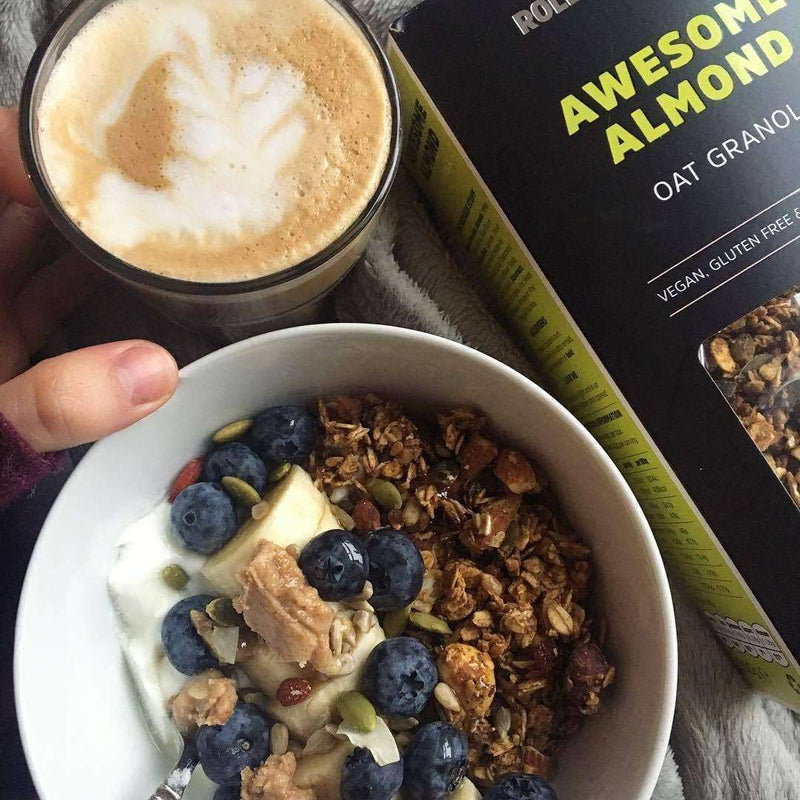Awesome Almond No Added Sugar Oat Granola , Granola  - Life By Equipe