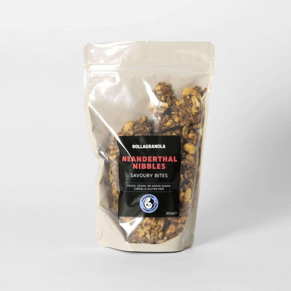 Neanderthal Nibbles Paleo Granola, Vegan, Cereal and Gluten-free , Granola  - Life By Equipe