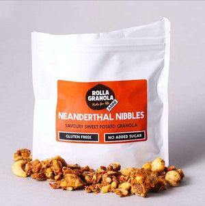 Neanderthal Nibbles Paleo Granola, Vegan, Cereal and Gluten-free - Snack Pack of 6x80g , Granola  - Life By Equipe