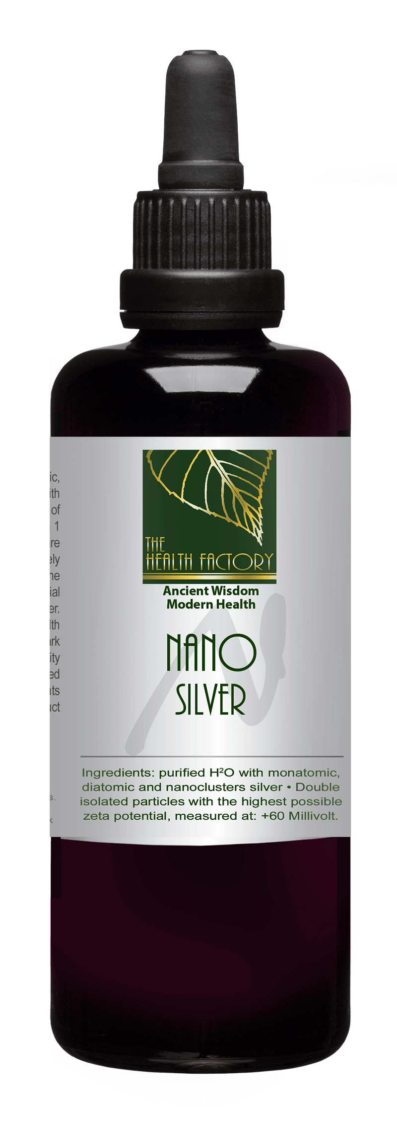 Nano Silver Purified Mineral Water to Support Natural Anti-Inflammatory & Recovery External Use