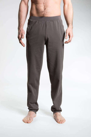 So We Flow Bottoms Jersey Longs - Men's Yoga Bottoms - Grit