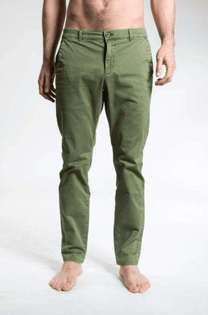 Twill Longs - Men's Yoga Pants - Forest , Bottoms  - Life By Equipe