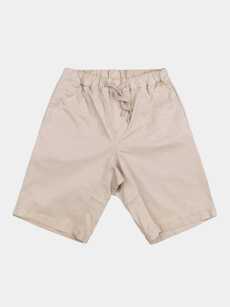 So We Flow Bottoms XS / Neutral - Stone Easy Shorts - Men's Yoga Shorts - Stone