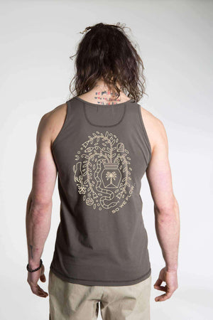 So We Flow Tops Flourish Vest - Men's Yoga Tops