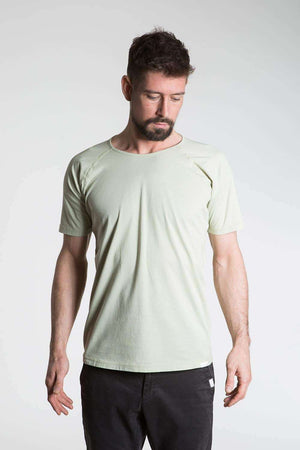 So We Flow Tops Jersey T-Shirt - Men's Yoga Tee - Alfalfa