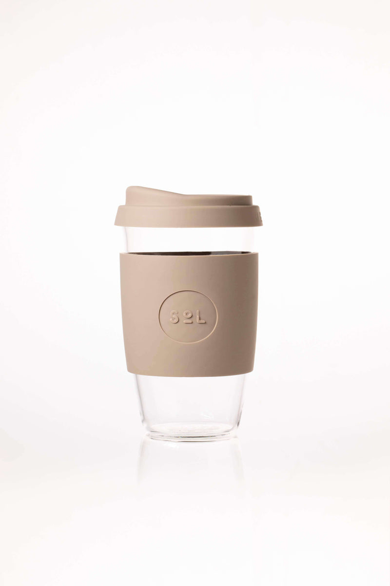 SoL Cups Glass Cup Reusable Glass Cups - SoL Cup 16oz