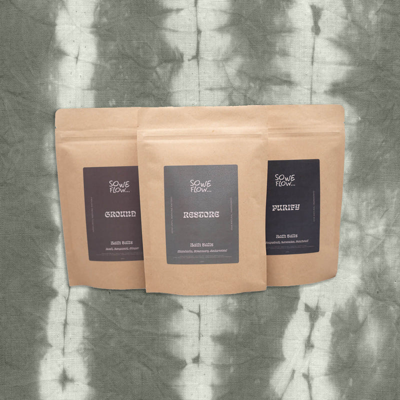 Deep Infusion Bath Salts Gift Set of 3