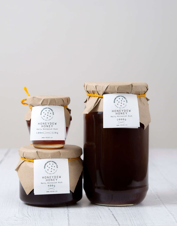Raw Honeydew Honey by Edinburgh Honey Co.