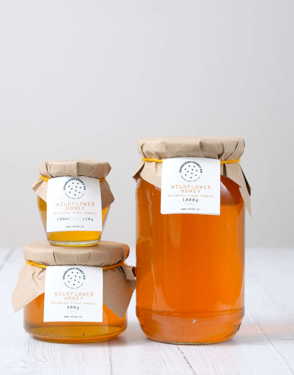 Raw Wildflower Honey by Edinburgh Honey Co.