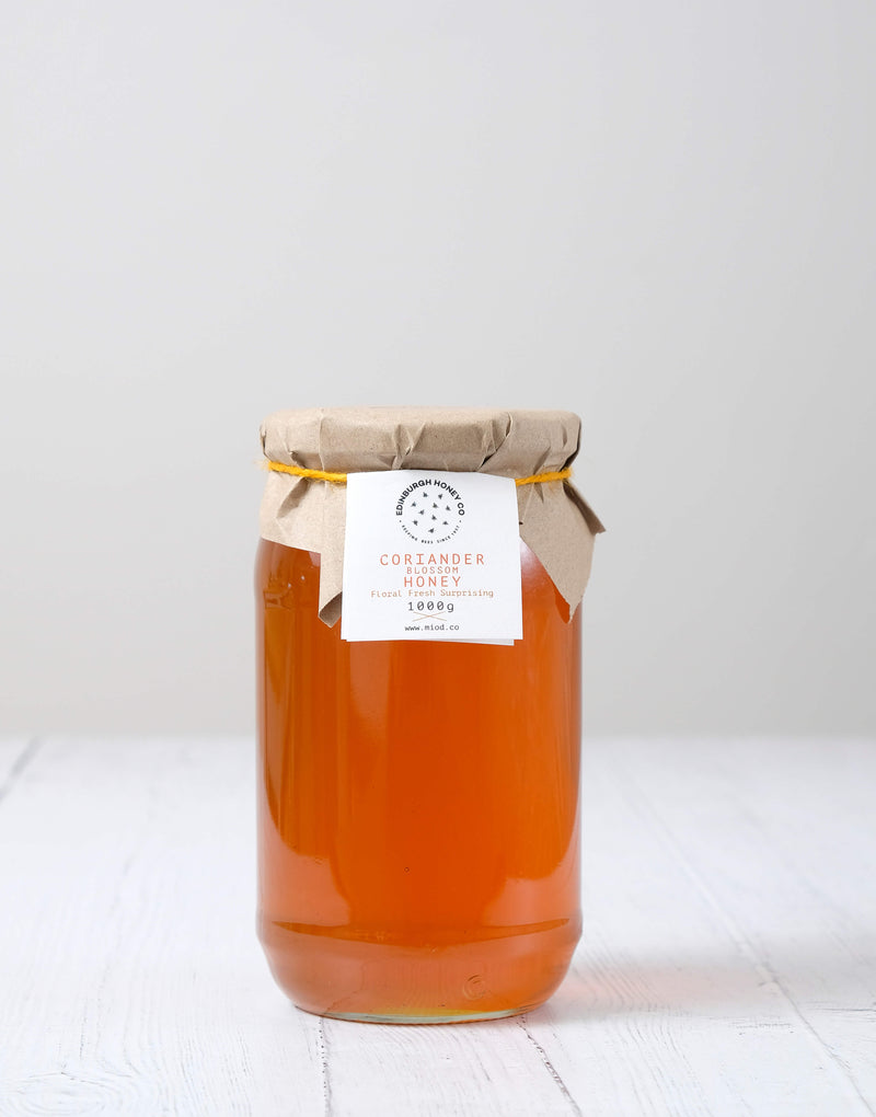 Raw Coriander Blossom Honey by Edinburgh Honey Co.