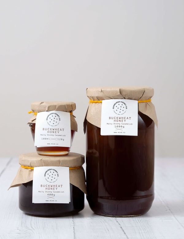 Raw Buckwheat Honey by Edinburgh Honey Co