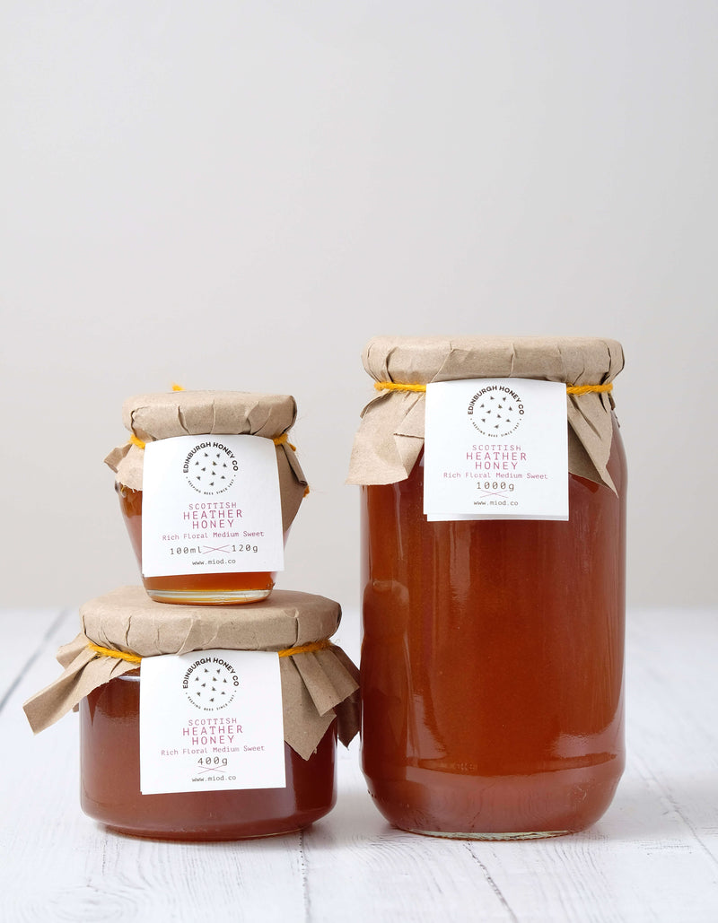 Raw Scottish Heather Honey by Edinburgh Honey Co.