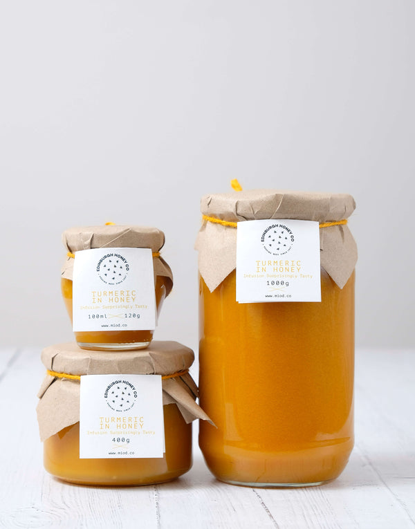 Turmeric Infused Honey by Edinburgh Honey Co.