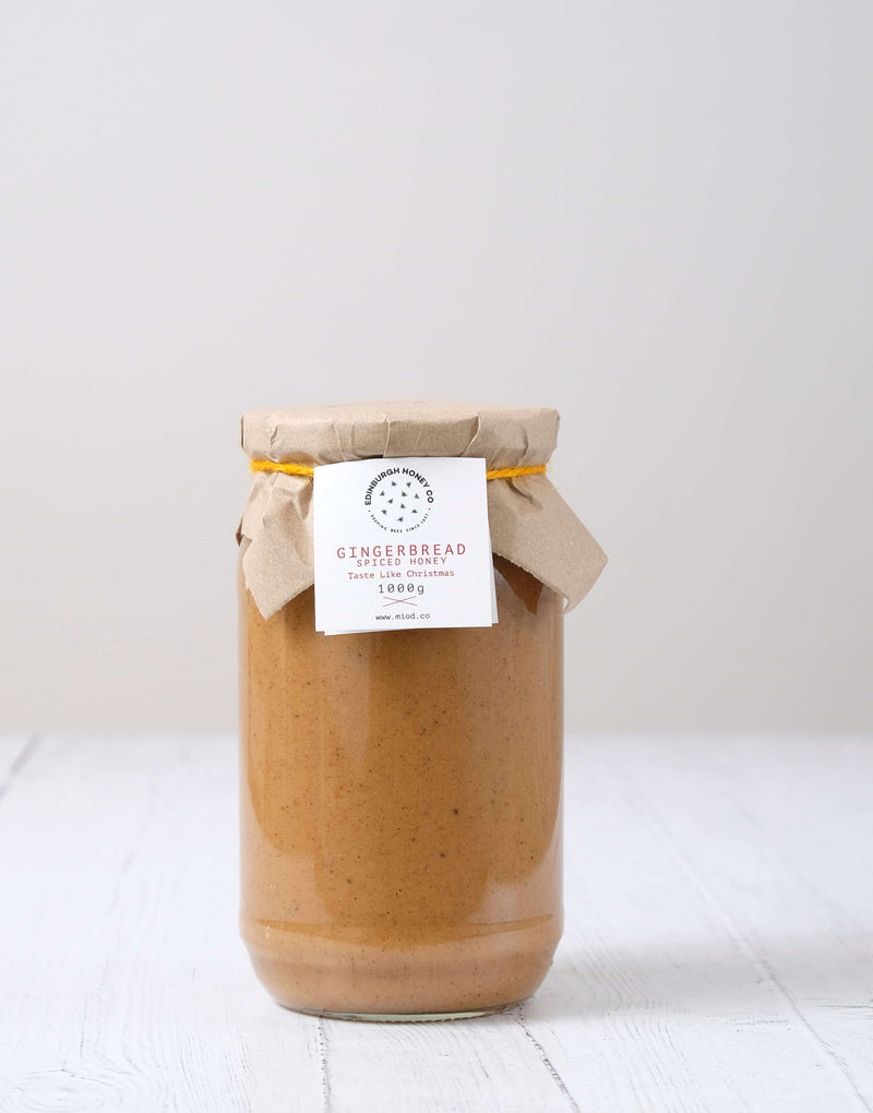 Gingerbread Spiced Infusion Honey by Edinburgh Honey Co.